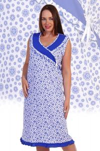 Сорочка женская ночная Арт. 516 Ив.Нат. (к.7242)